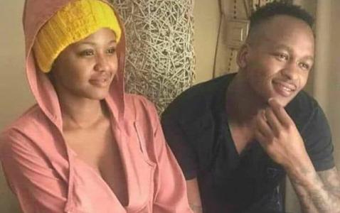 Khuzwayo Explains Photo Of Him And Babes Wodumo Holding Hands