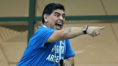 In Memes! Maradona Stole The Show During The Nigeria v Argentina Match