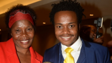 Percy Tau Is Still Just His Mother's Boy Despite The Success!