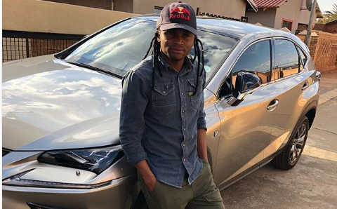 Pic! Shabba Trades In His Lexus SUV For A Sporty One