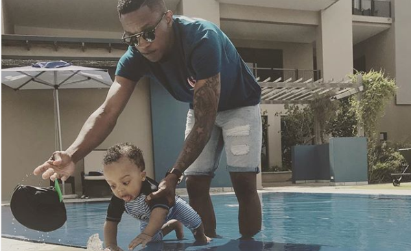 Check Out Grant Kekana's Son's 1st Birthday Party In Photos