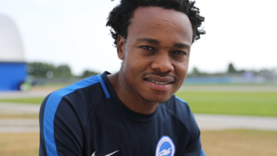 Check Out Percy Tau Alleged Weekly Salary At Brighton