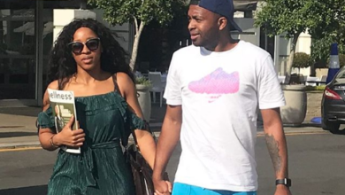 Here's What Khune Said On Girlfriend Sbahle Mpisane's Car Accident