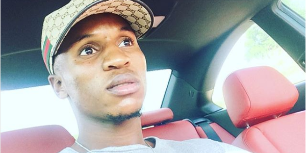 Sundowns Star Themba Zwane Shows Off His New Car