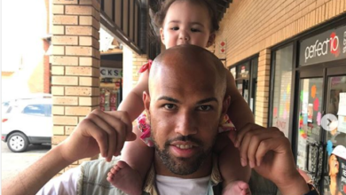 Adorable Moments Of Sundowns' Keeper Reyaad Pieterse And His Daughter