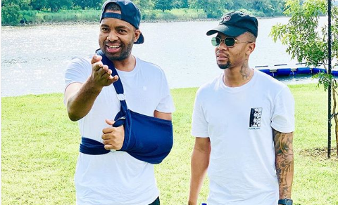 Check Out How Lebese's Chiefs Friends Celebrated His Birthday